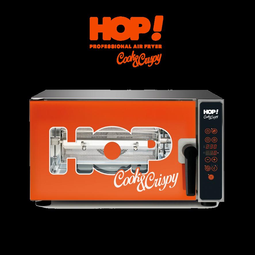 HOP! Cook & Crispy - Friggitrice ad aria professione - Prodotto in esclusiva di T2Group